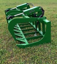 "MTL Attachments 72"" Root Grapple Bucket fits John Deere Tractor Loader Free Ship"