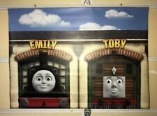 Thomas and Friends Toys R US Display Vinyl Banner Emily And Toby  4' X 3'