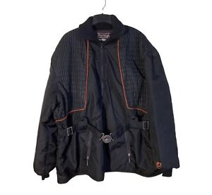 Vintage Arctic Cat Arcticwear Snowmobile Jacket Winter Coat Size XL Black