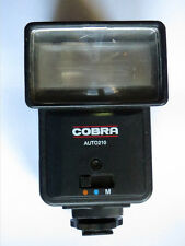 Cobra Auto 210 montaje de zapata flash