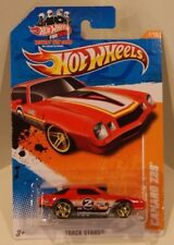 2011 Hot Wheels Track Stars Camaro Z28 Red Instant Win Card