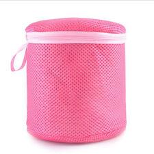 Women Bra Laundry Lingerie Washing Hosiery Saver Protect Mesh Round Laundry Bag#