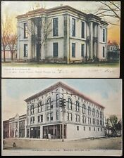 1906-08 Lot of 7 Antique Postcards - Baton Rouge, Louisiana - State Capitol, etc
