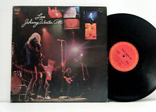 JOHNNY WINTER and LP Live 1970 Columbia