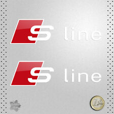STICKER  AUDI S-LINE TT RS A3 A4 A6 Q5 VINILO PEGATINA DECAL AUTOCOLLANT ADESIVO