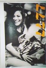 Lisa Lisa Sitting On Motorcycle Huge 1994 Promo Poster
