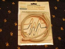 Interex Macintosh Serial Extension cabl 6ft cable  - 8 pin mini DIN M to F