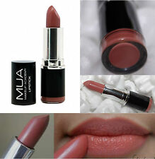MUA MAKE UP Academy Lipstick SHADE 11 DARK NUDE BARE Naked NEW AND SEALED