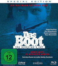 Blu-ray * DAS BOOT - DIRECTOR'S CUT - SPECIAL EDITION # NEU OVP %