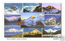 "Everest Postcard ""Above 8000m Himalaya peaks of Nepal"""