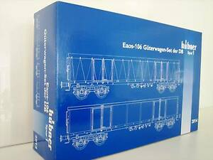 Hübner 2014 Gauge 1 Eaos Freight Wagon 106 DB Original Box New For Märklin