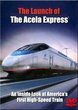 Launch of the Acela Express DVD NEW Amtrak Bombardier Ivy City high speed train