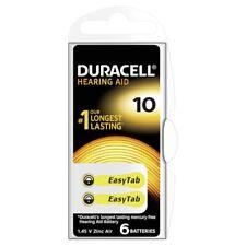 6 Duracell Hörgeräte Batterien Hörgerät Batterie Typ 10