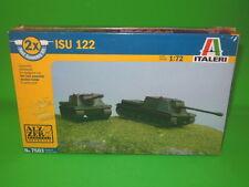 Italeri 1/72nd Scale WWII Russian ISU-122 Tank Destroyer Fast Build  7503 Kit!