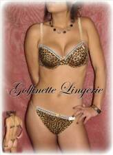 SUPERBE ENSEMBLE STRING LEOPARD FR 95B / 42