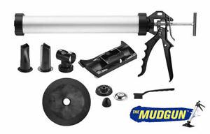 MudGun Drywall Filling Applicator PRO Set -Silicone Sausage Combi Gun Multi Fill