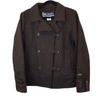 Columbia XCO Women's Herringbone Pattern Wool Jacket size m