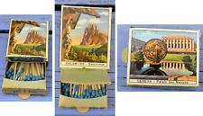 Boîte d'allumettes à tirette Dolomites Sassolungo et Geneva, Suisse,
