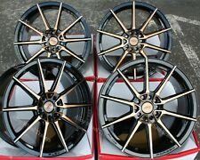 "ALLOY WHEELS X4 18"" BGF 01 FOR AUDI A4 A6 A8 TT RS COUPE ROADSTER Q2 Q3 Q5 5X112"