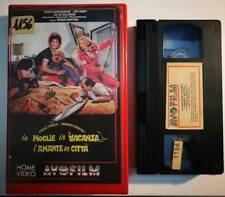 VHS - LA MOGLIE IN VACANZA L'AMANTE IN CITTA' di Sergio Martino [AVOFILM]