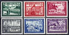 Deutsches Reich 773/78 ** Kameradschaftsblock der Deutschen Reichspost (II)