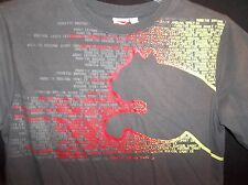 PUMA Youth Boy's Graphic T shirt COTTON  Size LARGE