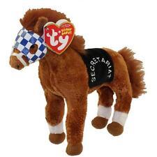 Ty Beanie Babies SECRETARIAT the horse Triple Crown Winner MINT with MINT TAGS