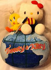 HUGE KITTY AND TWEETY ON TOP OF THE WORLD from Japan-ship free