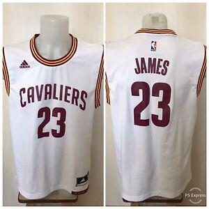 Cleveland Cavaliers #23 LeBron James Sz M Adidas basketball jersey shirt maillot