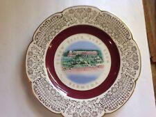 Elbow Beach Surf Club Souvenir Vintage Plate, Bermuda