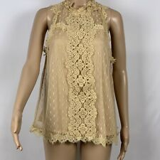 Love J Sleevless Lace Top L Large