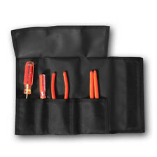 LINE2design Tool Roll - Firefighter Multi-Purpose 5 Pocket Nylon - Color Black