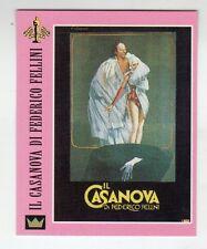 Figurina SUPERCINEMA EVENTS MAXI CARDS NUMERO 129 IL CASANOVA