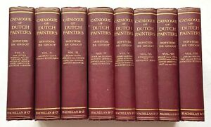 CATALOGUE OF DUTCH PAINTERS, (8 Volumes, complete),1908-1927