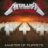 METALLICA - MASTER OF PUPPETS remastered  (LP Vinyl) sealed