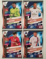 2020 Match Attax 101 Soccer Cards - Young Players of the Season Full Set