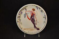 """Villeroy & Boch Design 1900 8"""" Salad Plate Satin Violet Robe"""