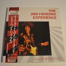 JIMI HENDRIX - LIVE AT WINTERLAND - 1987 JAPAN 2LPs