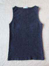 Juicy Couture Black Cotton Sleeveless Shirt Tank Undershirt Size XS
