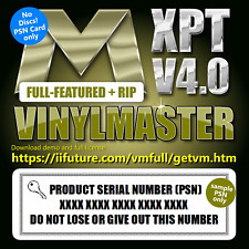 Vinyl Printer-Cutter Plotter VinylMaster XPT Software RIP Print & Cut + Printing