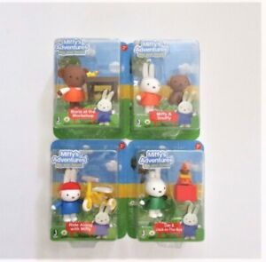 NIP Miffy's Adventure Big and Small Collectible Miniature Toy Free US Shipping!