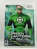 Green Lantern: Rise of the Manhunters (Nintendo Wii, 2011)