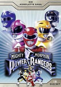 Mighty Morphin Power Rangers -Complete Saga 19 Disc NEW SEALED UK R2 DVD Box Set