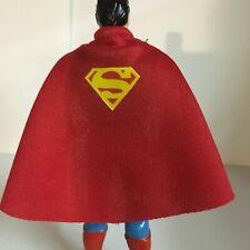 DC Kenner Super Powers Superman Replica Custom Cape (Cape Only) W/ S Emblem