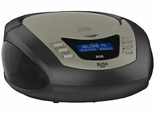 Bush Black DAB CD Boombox - CDDAB212