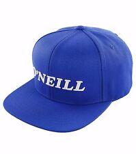 O'Neill GOORU Mens Adjustable Acrylic Wool Blend Snapback Hat Royal Blue NEW