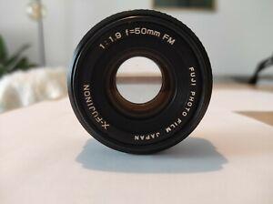 X-FUJINON 50mm f/1,9 lens FUJICA AX mount