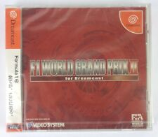 F1 WORLD GRAND PRIX II - DREAMCAST - JAPAN EDITION - NUOVO SIGILLATO - NEW SALED