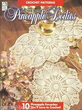 Heirloom Pineapple Doilies Crochet 10 Instruction Patterns Book HOWB 1995