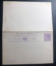 Mint Barbados Postal Stationary Reply Postcard UPU